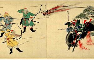 元寇で使われた「てつはう」は、鉄砲の原型。